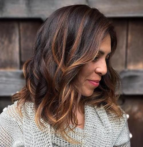 Medium Wavy Hairstyle For Thick Hair Modern Wavy Hairstyles