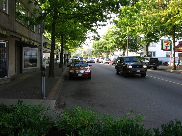 12th Street in New Westminster, B.C. - There is the spirit of a 13 year old girl who killed herself and she is seen wandering quite often here, wearing jeans, a red hoodie, and carrying a backpack. Her face is extremely pale, she has black eyes, and stares directly at people passing by. There is a haunted recording studio on this street, and screams are said to emanate from it.