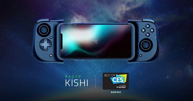 Sorteio De Um Razer Kishi Joystick Para Smartphones Gleam