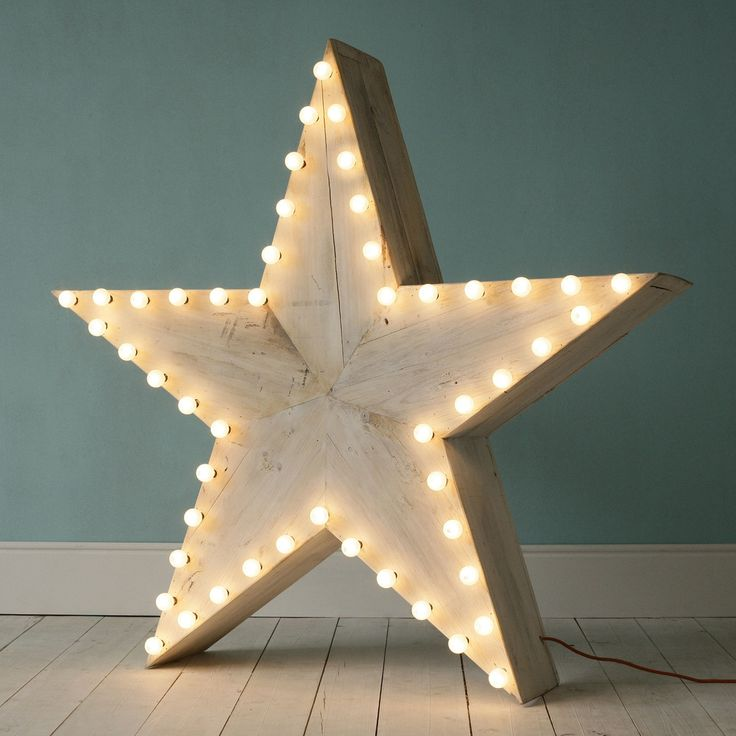 star shaped lighting. Xmas Star From Xo-inmyroom / Via Handmade Charlotte. Cute Hanging In Room Or Sitting On Shelf/table/nightstand Shaped Lighting