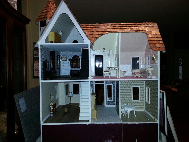 Fabulous 7 best Duracraft Queen Anne dollhouse images on Pinterest | Queen  EV33