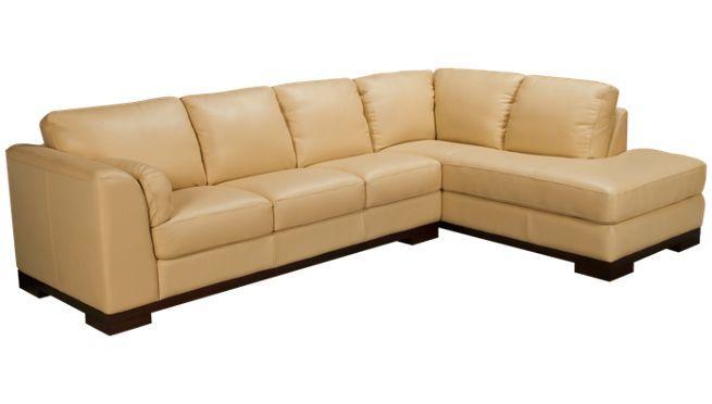 Futura Malibu 2 Piece Leather Sectional Jordan S