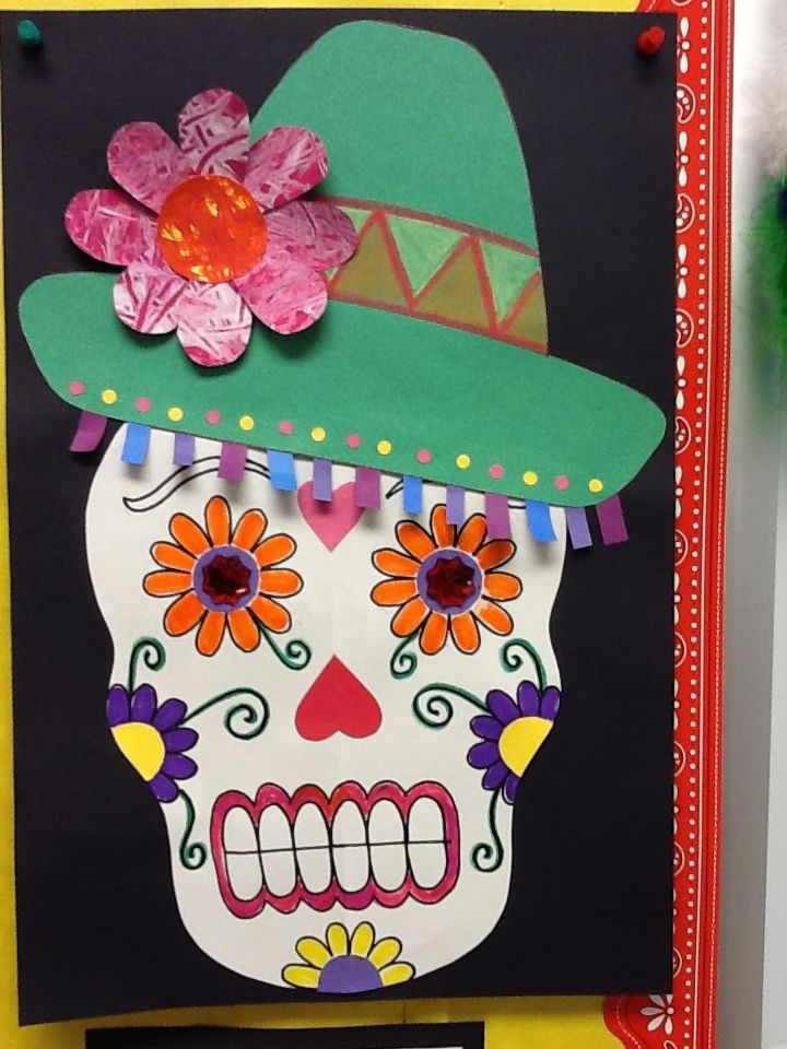 Day of the Dead Calaca / 2nd grade