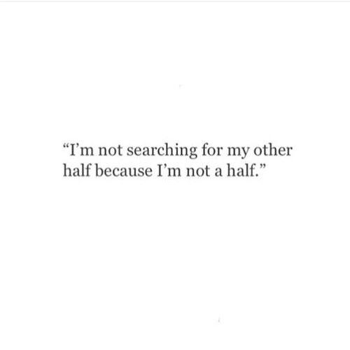 U complete me :(