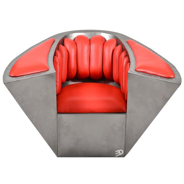 The Tred Armchair by Tredart combines comfort and refinement with a touch of edge. http://www.zocko.com/z/JHlIa