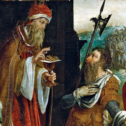 """Question: """"Who was Melchizedek?""""  Answer: Melchizedek, whose name means """"king of righteousness,"""" was a king of Salem (Jerusalem) and priest of the Most High God (Genesis 14:18–20; Psalm 110:4; Hebrews 5:6–11; 6:20—7:28).   #Melchizedek #Tips"""