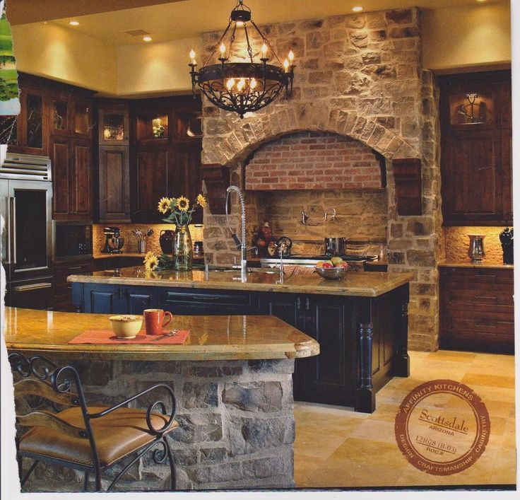 Old World Home Design | Old World Kitchen Design | Home Decor