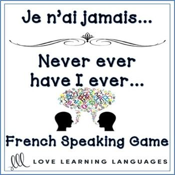 French speaking game for beginners and advanced students alike, a fun NO PREP activity. All students can practice speaking and forming the pass compos with verbs that use both tre and avoir as helping verbs, including reflexive verbs. The way the cards are organized even beginners can use them and have a great time playing this fun speaking game.