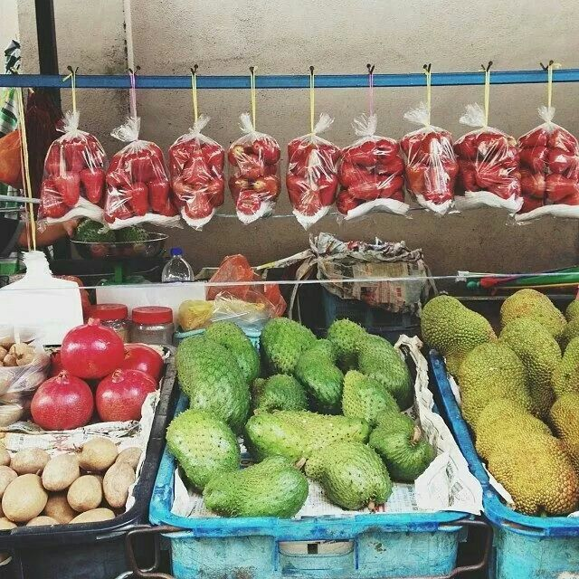 Tropical fruits..