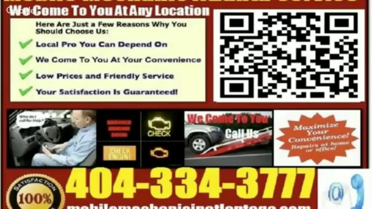 Mobile BMW Mechanic Atlanta Auto Car Repair Service