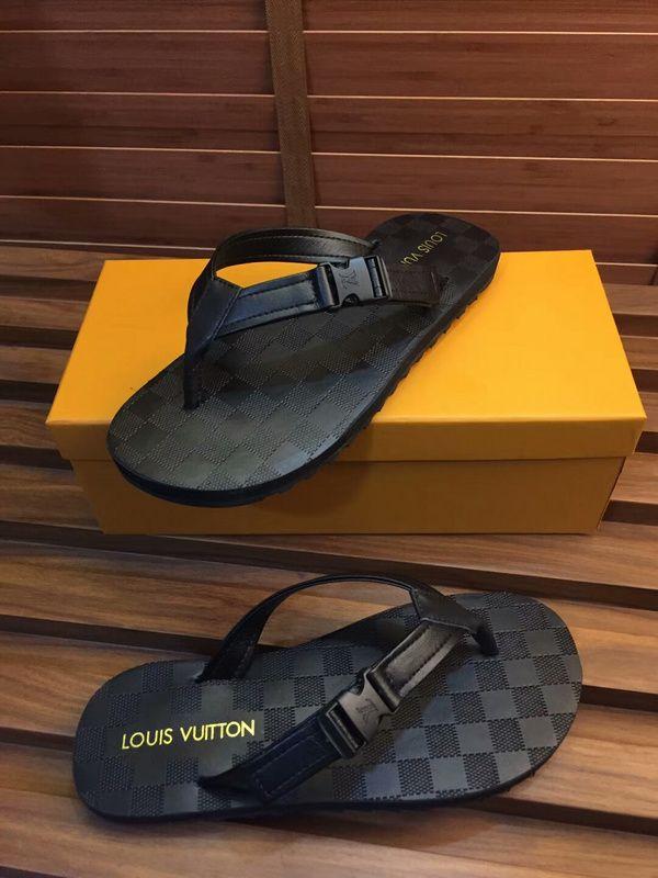 e569ed228f69 ... Slippers Flip Flops For Sale. Louis Vuitton Lv New Men Flip Flop 38 45  55 100506122018 01 05 5924