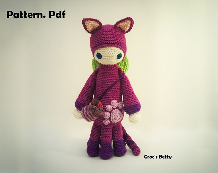 Pattern [EN-FR] - P'tit Bidule Numea  Le chat Polydactyle / The Polydactyl Kitty ^^