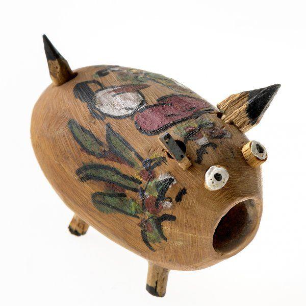 Cochinito de cáscara de nuez - Museo Franz Mayer