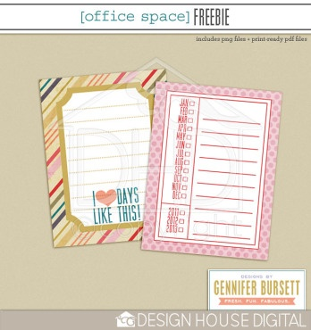 I Love Days Like This Journaling Card Project Life Freebie printable