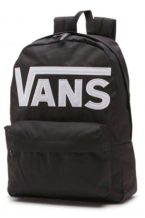 Zaino Vans Old Skool II Black White