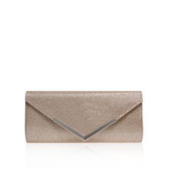Daphne Silver Clutch Bag from Carvela Kurt Geiger