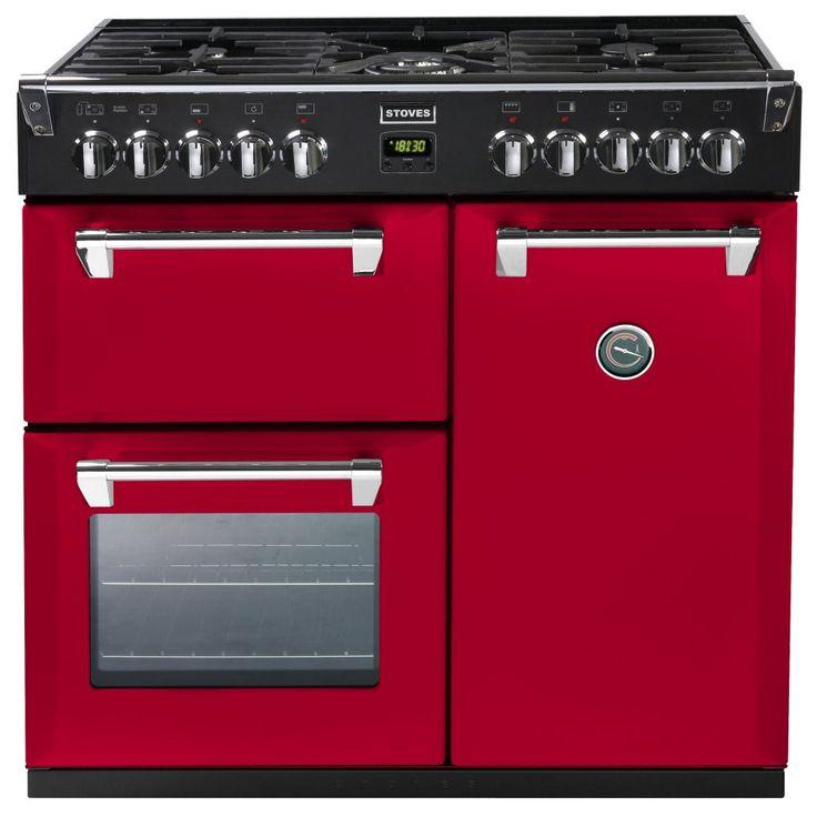 Stoves RICHMOND 900DFTCBHJA - Richmond 900mm Dual Fuel Cooker Colour Boutique | Appliance City