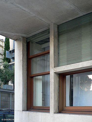 Como ITA - Giuseppe Terragni - Casa del Fascio 1932-1936 - Via Alessandro Manzoni - Photo: Sandro Maggi ©