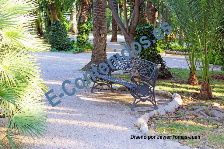 Transmite consejos en jardines con palmeras mediante marketing de contenidos.