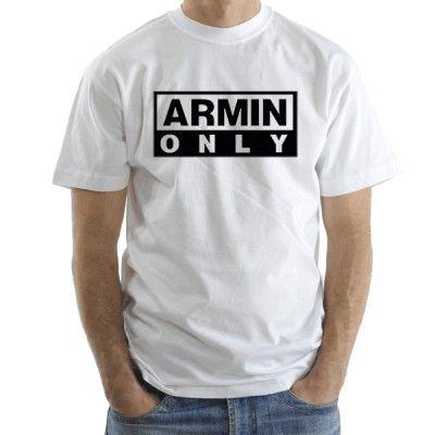 Armin Only Black man t-shirt short sleeve