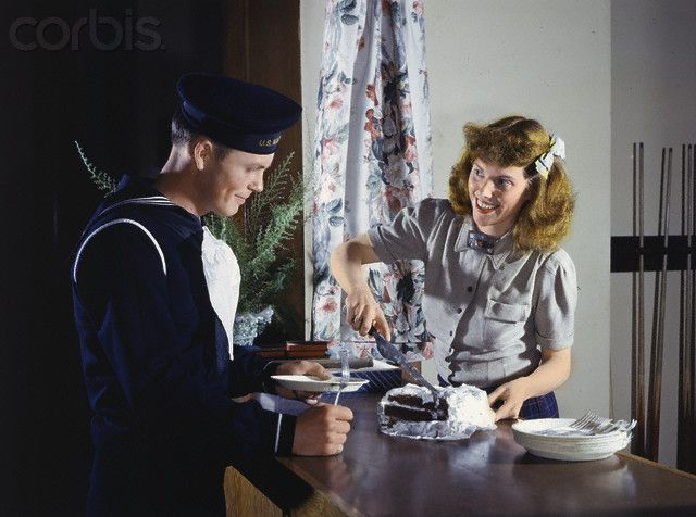 Dating in 1940s usa