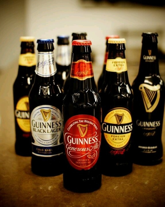 Guiness Beer .. A selection to die for :)