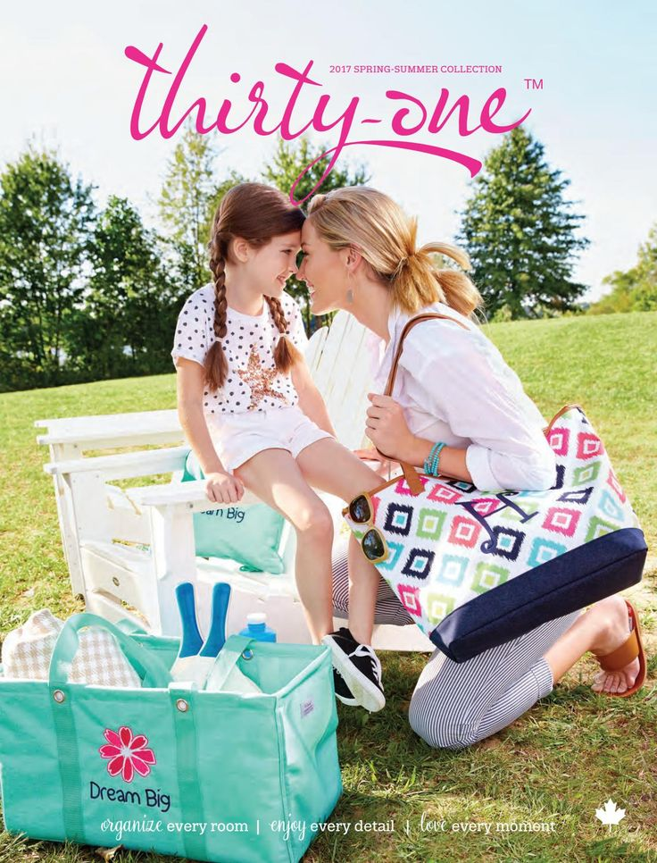 Thirty-One Spring/Summer Catalog 2017 spend $35 or more and get a free catalog in january www.mythirtyone.com/ThirtyonewithKylee