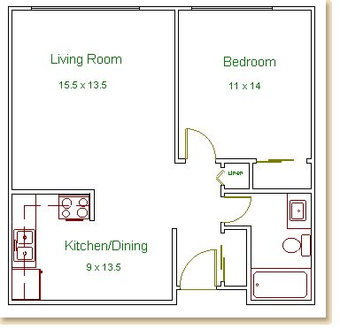 Best One Bedroom House Plans Ideas On Pinterest One Bedroom
