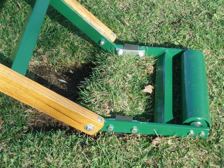 People Powered Sod Cutter Clears The Way For A Lawn Renovation Sod Cutter Lawn Sod Lawn