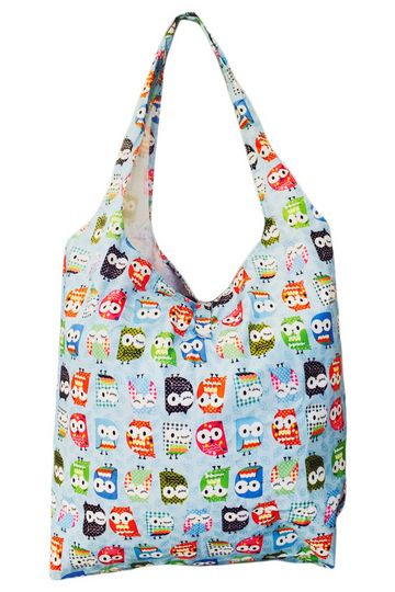 Vedenpitävä pöllö eco bag 9,90€, väri vapaa