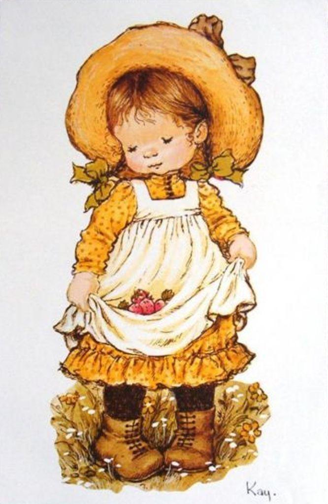 Fetita cu fragi