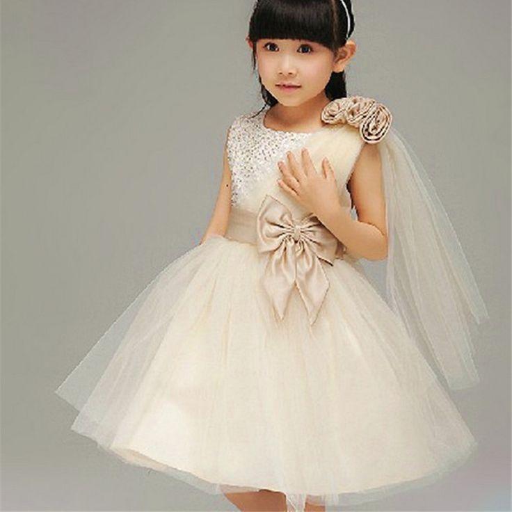 Party Girl Dress Wedding Vestido Enfant Next Children Clothing Toddler Birthday Kids Clothes Princess Baby Girl Summer Dress #Affiliate
