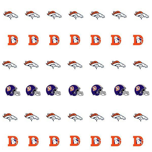 48 best broncos nail design images on pinterest denver for Denver broncos colors