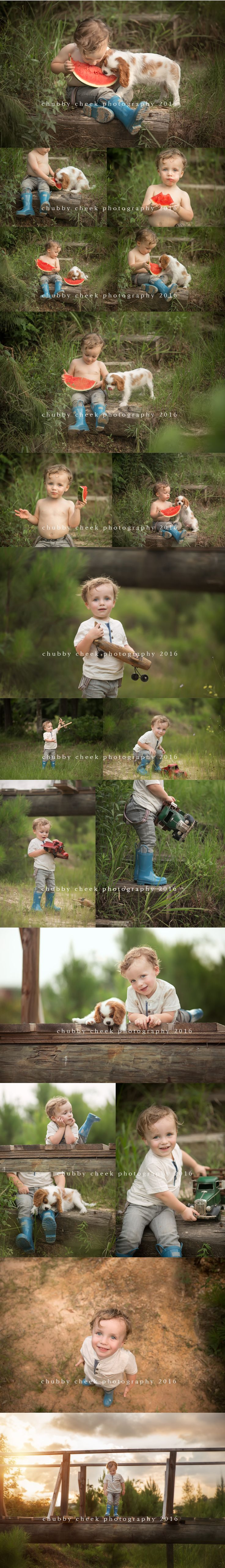 when you give a boy some watermelonand he has a new puppy...his puppy will want to share,but the boy might not! hahahahahahaFOR THE PHOTOGRAPHERS in the hiz-ouse ha, you might recognize this shoot from the 50min  DETAILED SHOOTING video I created for Creativity Camp ONLINE CLASS!…