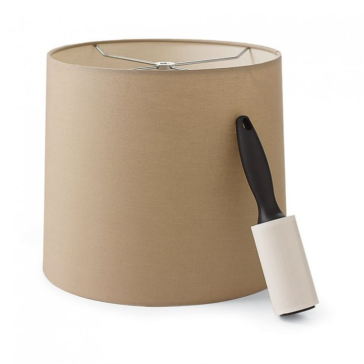Keeping Lampshades Clean....  wha!?!  Can't believe I never thought of this!!!