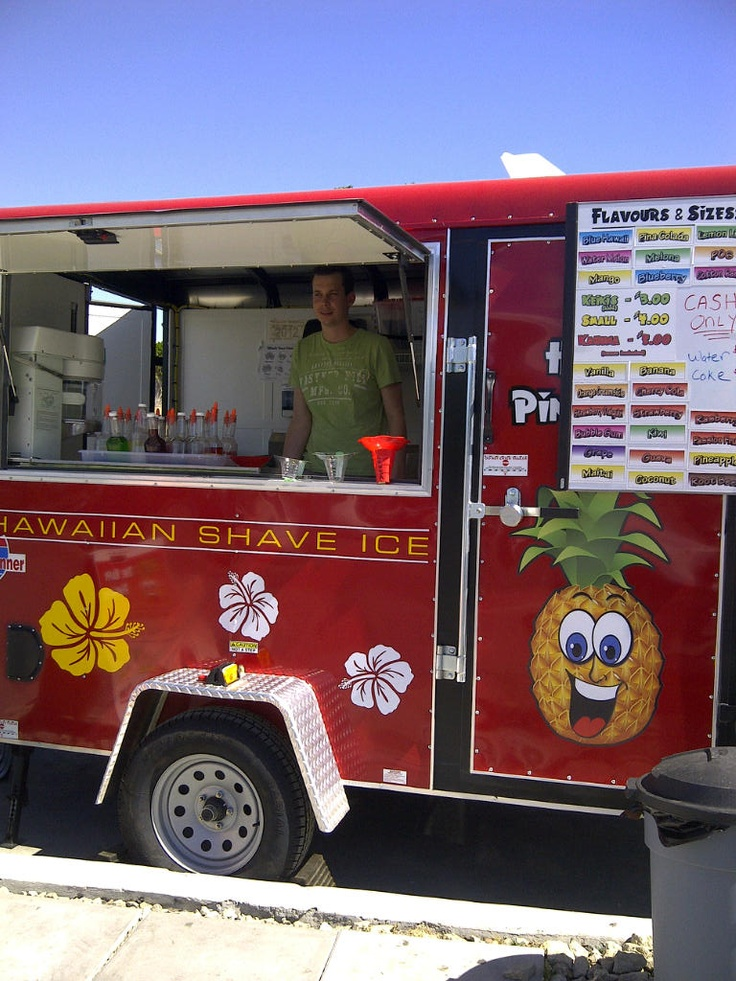 shaved ice huts