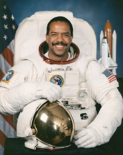 We need to portray more black men like him: Dr. Bernard Anthony Harris Jr., American medical doctor, private pilot, scuba diver, philanthropist, venture capitalist, clinical scientist, flight surgeon and astronaut who served on missions STS-55 (Space Shuttle Columbia) and STS-63 (Space Shuttle Discovery), the first African American to EVA (extra-vehicular activity = spacewalk), during the second of his two Space Shuttle flights