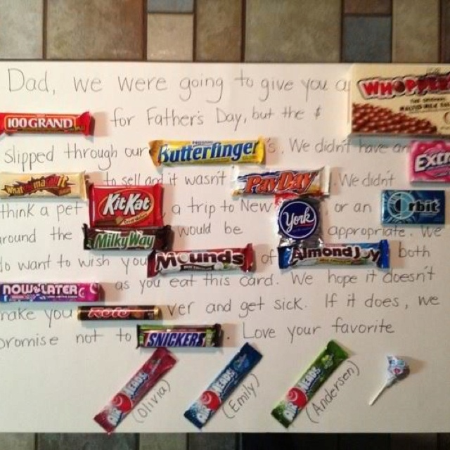 Great idea for Father's Day! | I Do!!! | Pinterest