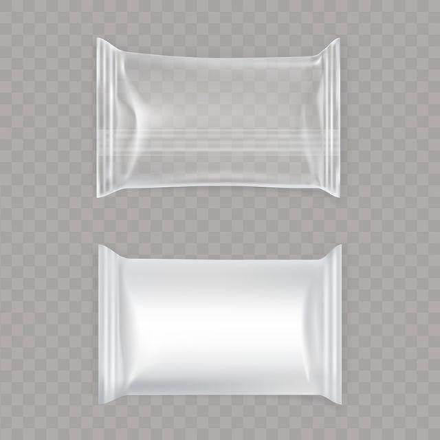 Download Set Of Vector Illustrations Of White And Transparent Plastic Bag Vector And Png Desain Grafis Desain Produk