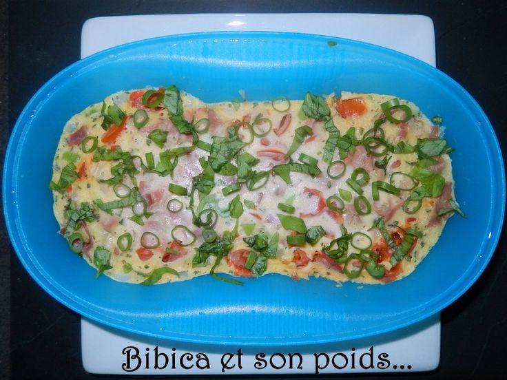 Quiche à l'italienne {Omelette Party-Cuiseur Solo de Tup}