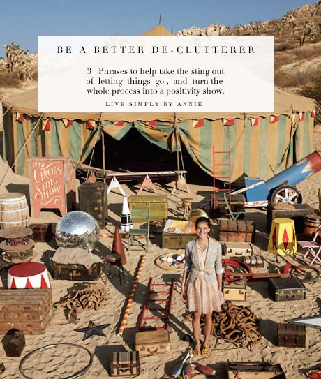 A must read! Simple shifts you can make when decluttering to conquer your stuff for good.