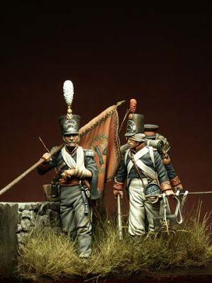 I Soldatini di Gaetano Ciotola: Milizia Olandese , Waterloo 1815 - Autore Cartacci Numitone - Collezione Gaetano Ciotola