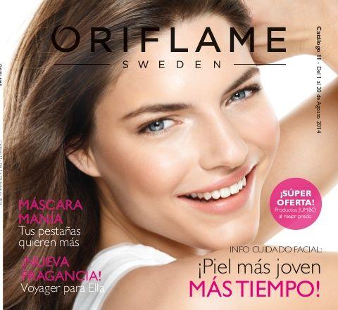 Catálogo 11 2014  Si quieres hacerte cliente pincha aquí http://es.oriflame.com/recruits/online-registration.jhtml?sponsor=7871510&_requestid=606193