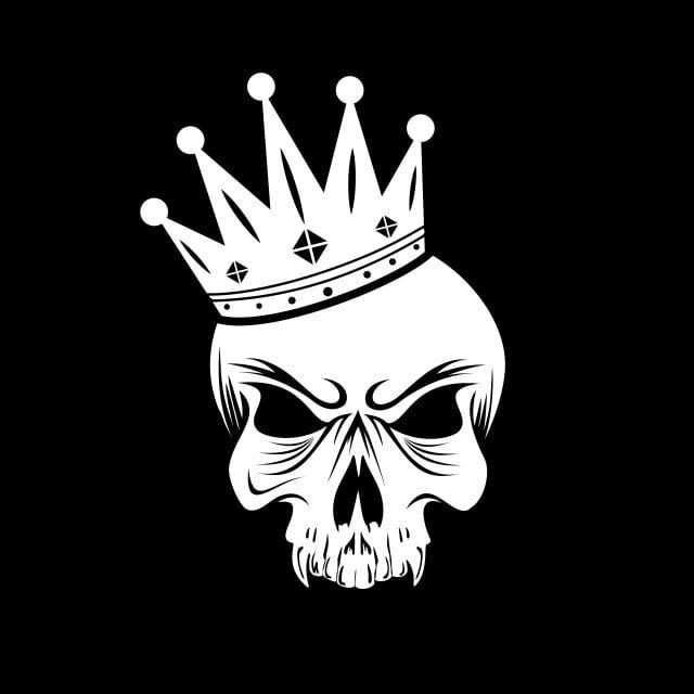 جمجمة الملك شعار تصميم مدهش لشركتك أو العلامة التجارية جمجمة تشريح خلفية Png والمتجهات للتحميل مجانا Logo Wallpaper Hd Skull Wallpaper King Logo