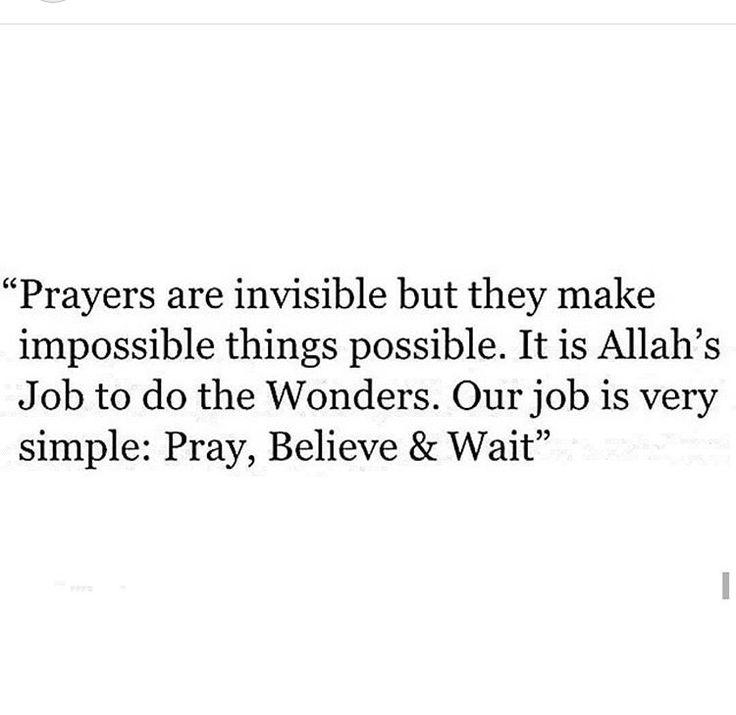 Believe~~