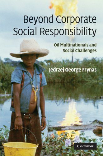 Beyond corporate social responsibility : oil multinationals and social challenges | 111.75 FRY on line