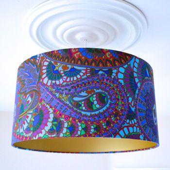 Belle Epoch lampshade by Swee Mei, 50 x 26cm