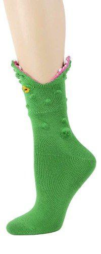 Alligator 3-D Socks