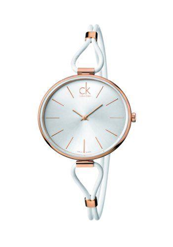Calvin Klein  K3V236L6 - Reloj de cuarzo para mujer, con correa de cuero, color blanco Calvin Klein http://www.amazon.es/dp/B00DZS0B7G/ref=cm_sw_r_pi_dp_qvhQub1M2XKAF