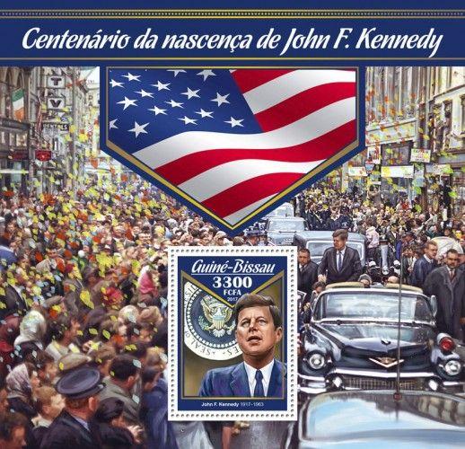 GB17004b Centenary of birth of John F. Kennedy (John F. Kennedy (1917–1963))